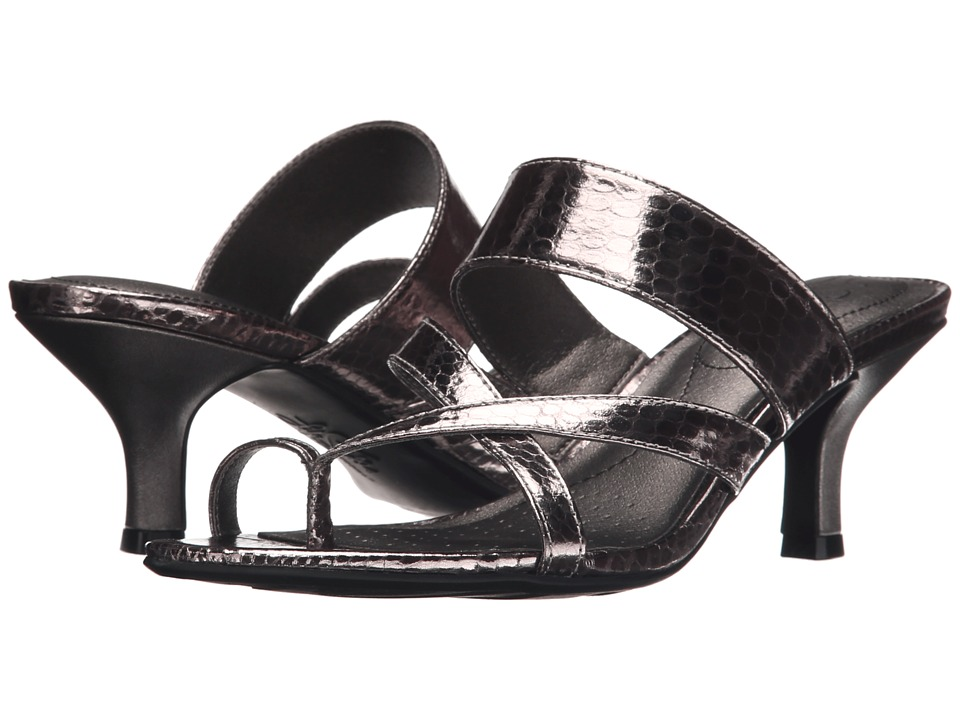 LifeStride - Frolic (Pewter Sparkler) Women's Dress Sandals