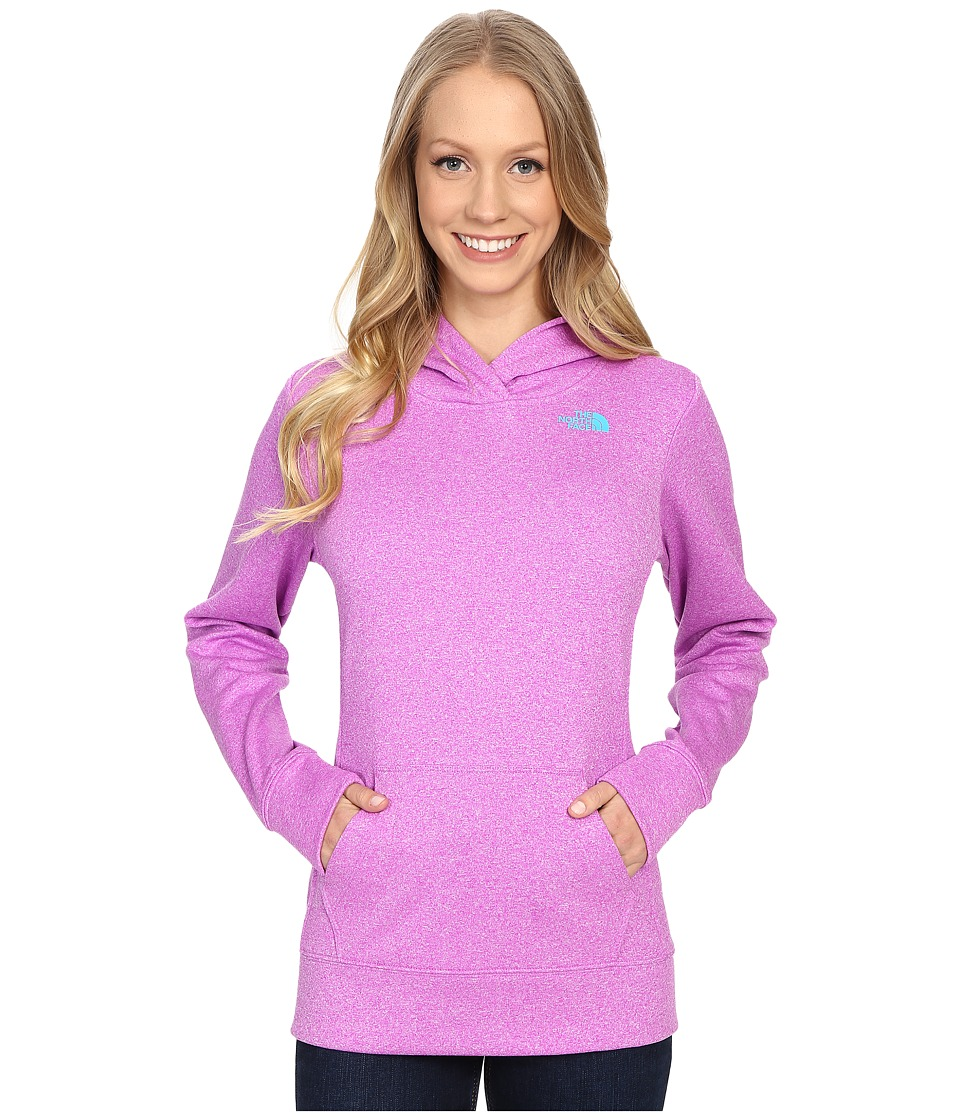 The North Face LFC Fave Hoodie (Sweet Violet Heather/Bluebird) Women