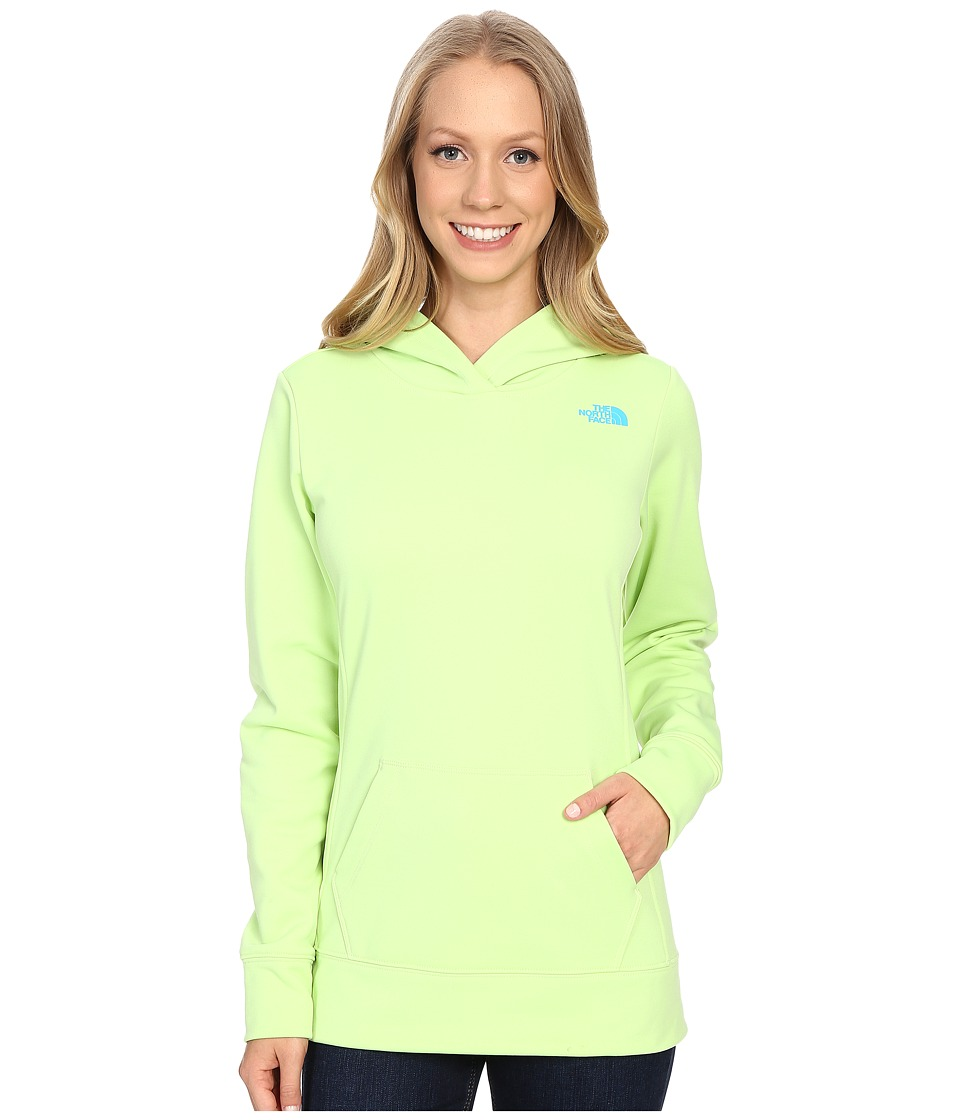 The North Face LFC Fave Hoodie (Budding Green/Bluebird) Women