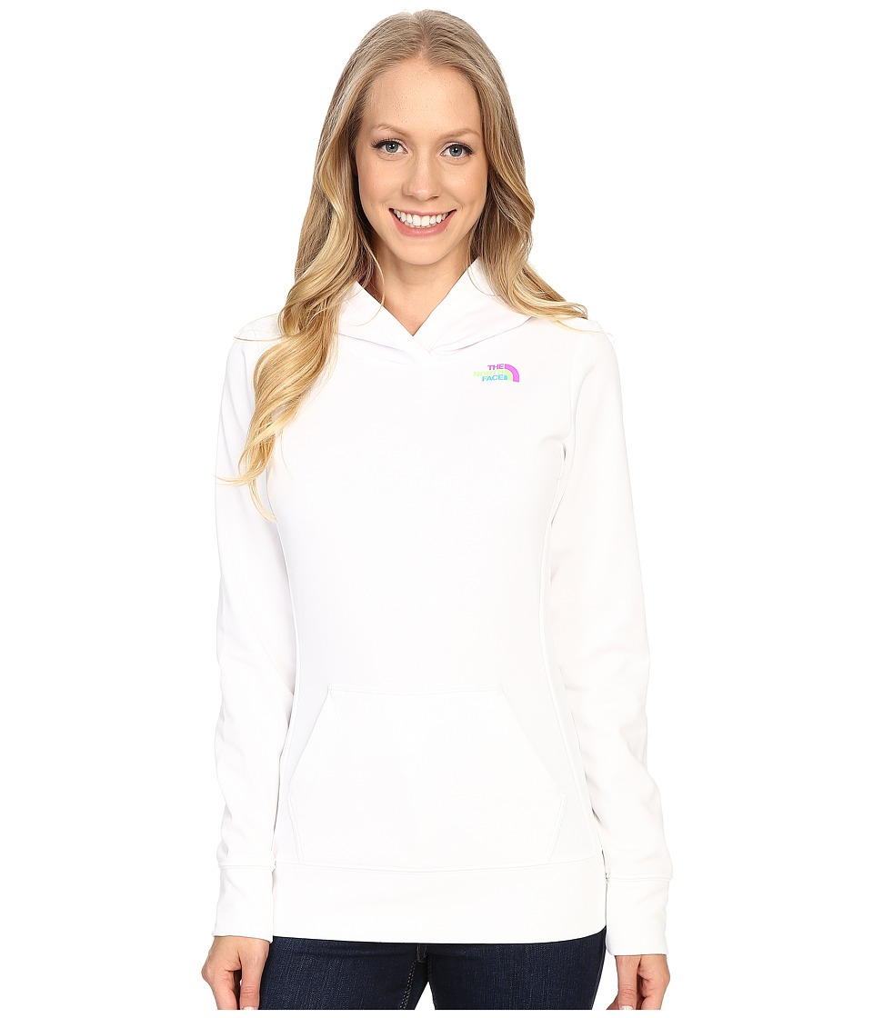The North Face LFC Fave Hoodie (TNF White/Sweet Violet Multi) Women