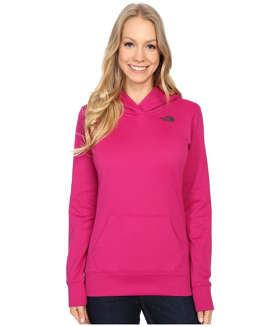 The North Face LFC Fave Hoodie (Fuchsia Pink/Asphalt Grey) Women