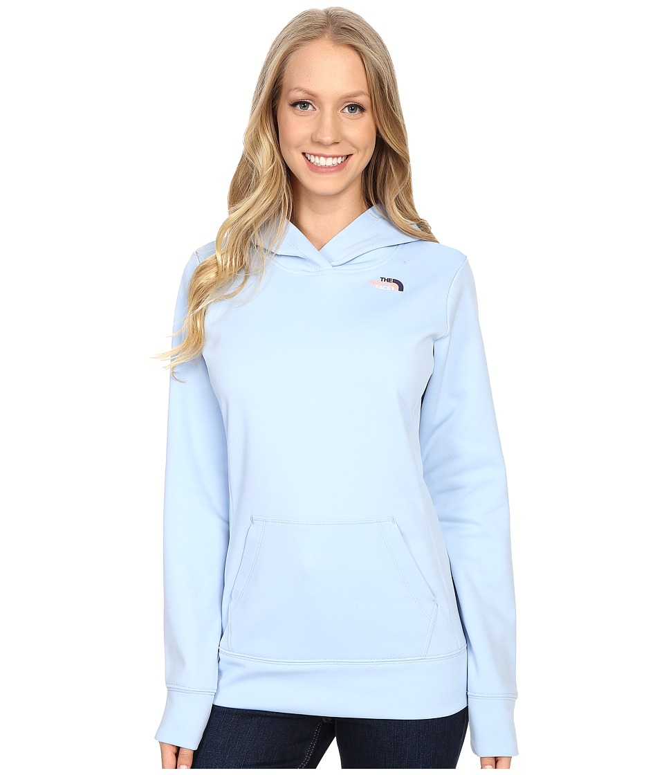 The North Face LFC Fave Hoodie (Powder Blue/Patriot Blue Multi) Women