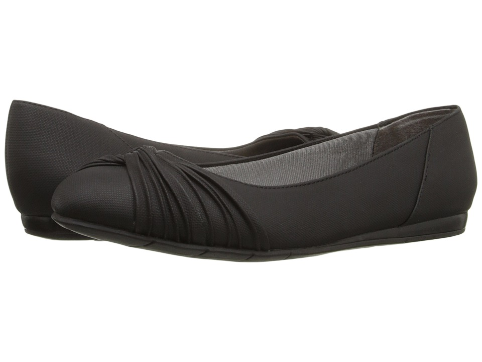 LifeStride - Notorious (Black) Women's Flat Shoes