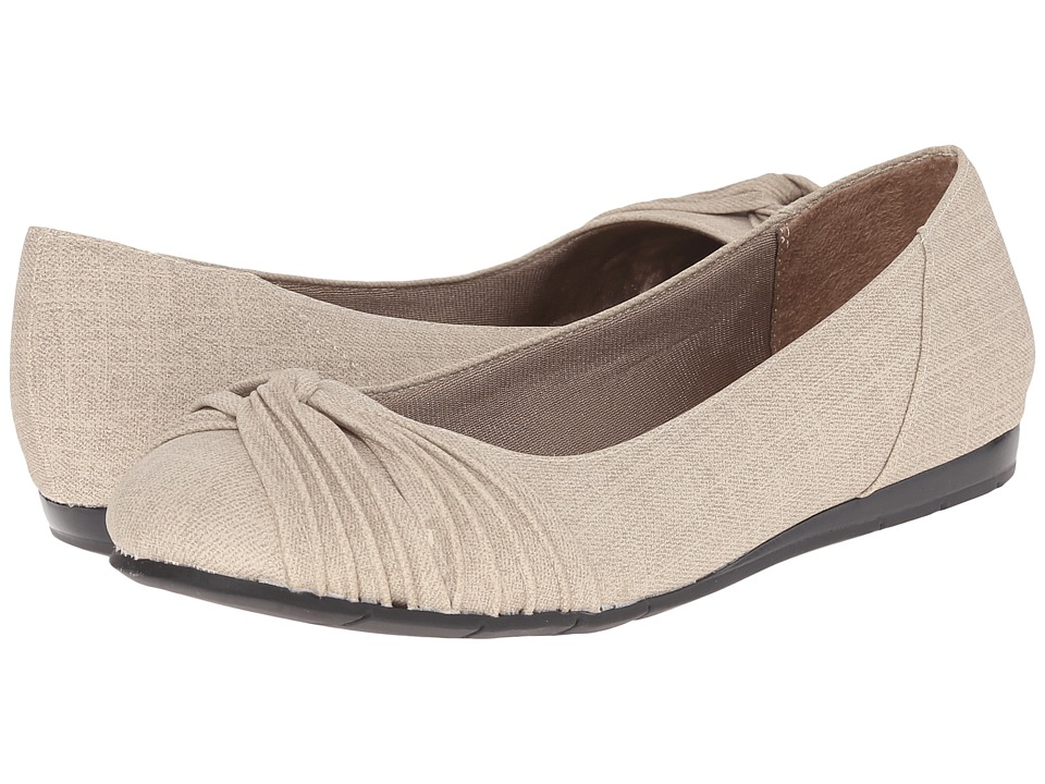LifeStride - Notorious (Taupe) Women's Flat Shoes