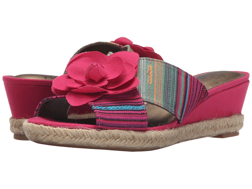 LifeStride - Omega (Pink Multi) Women's Flat Shoes