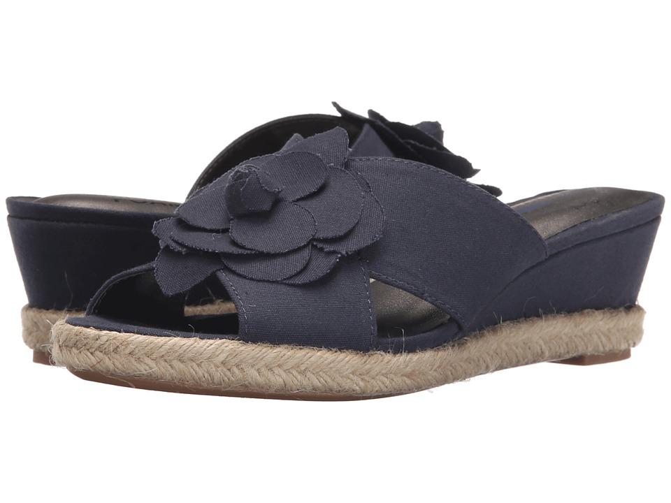 LifeStride - Omega (Navy) Women's Flat Shoes