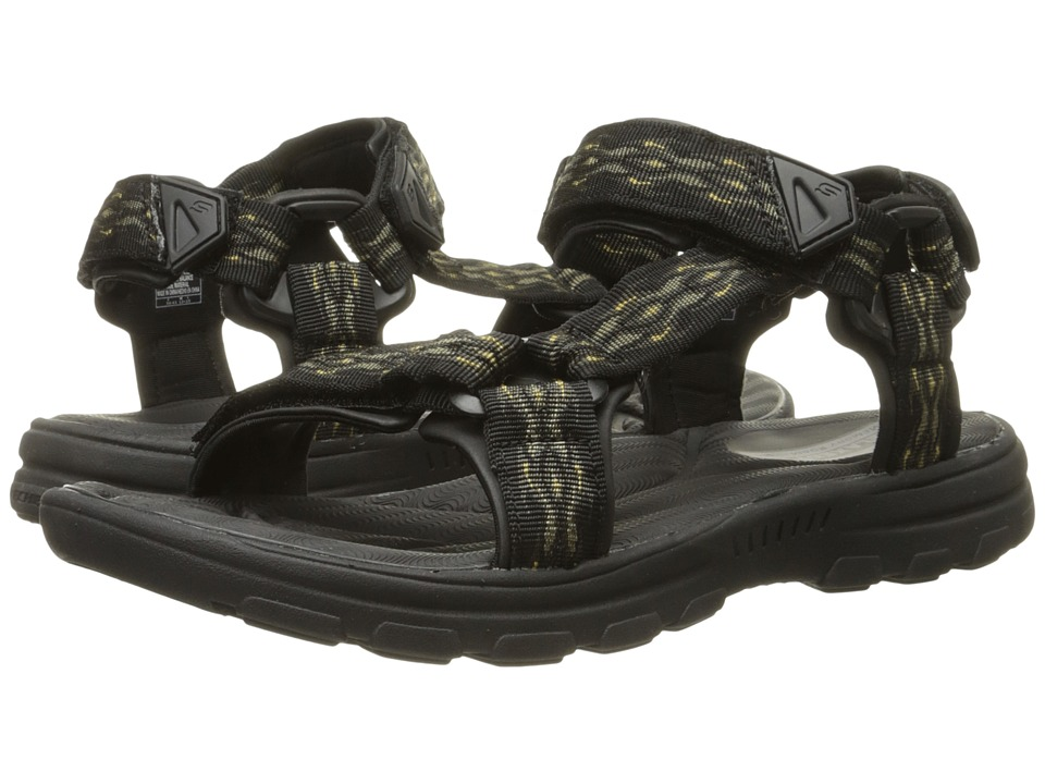 SKECHERS - Relaxed Fit 360 Bravelen - Drito (Black) Men's Sandals
