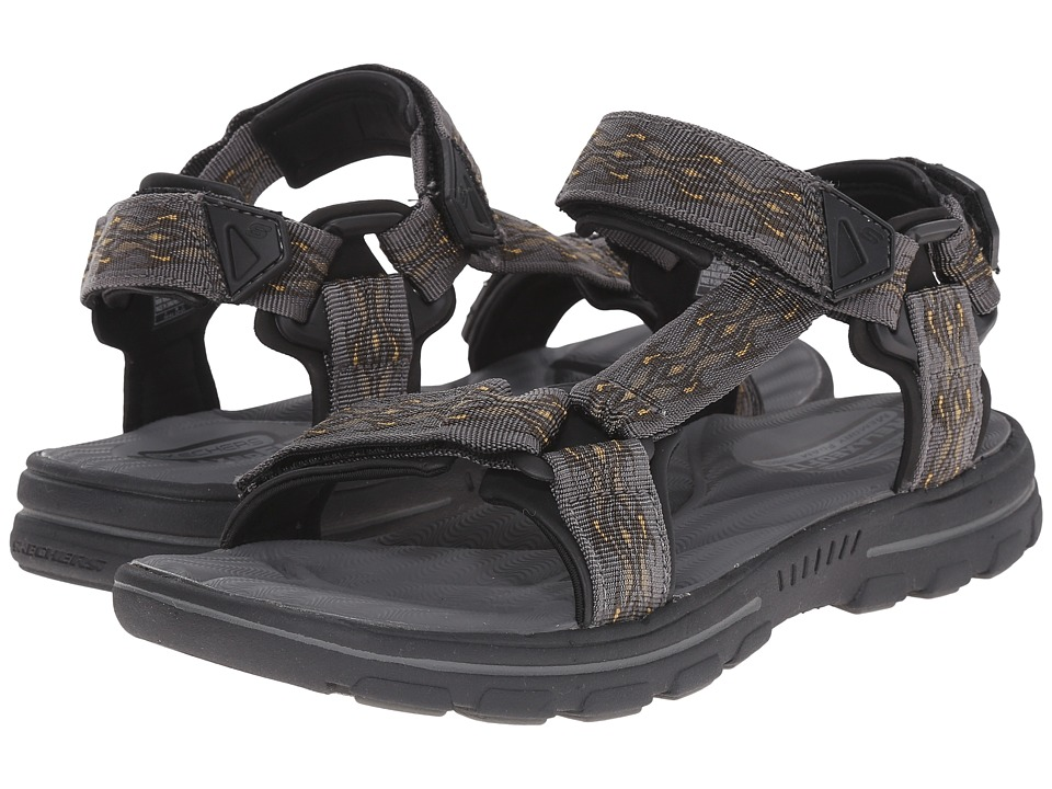 SKECHERS - Relaxed Fit 360 Bravelen - Drito (Charcoal) Men's Sandals