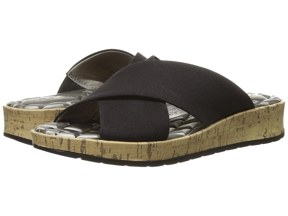 LifeStride - Positive (Black Canvas Fabric) Women's 1-2 inch heel Shoes