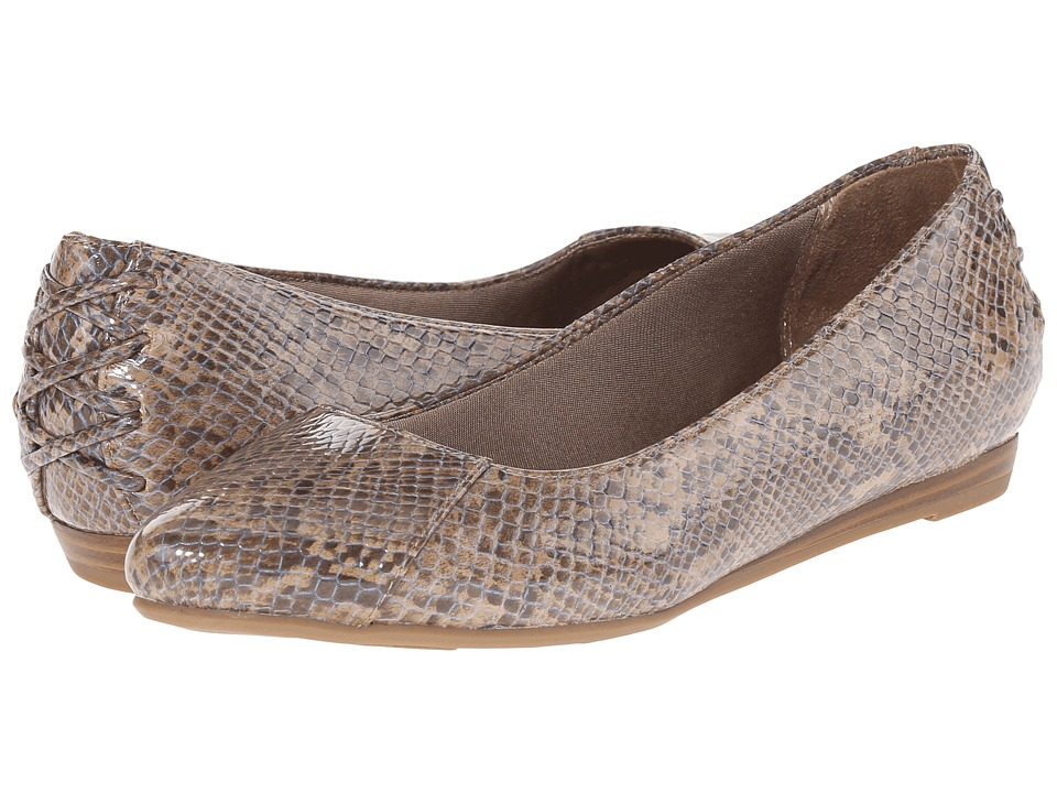 LifeStride - Qute (Tan Fantasy) Women's Flat Shoes