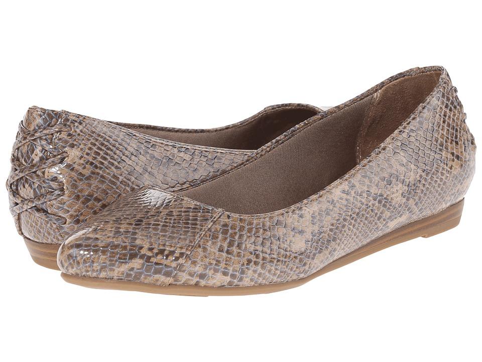 LifeStride - Qute (Tan Fantasy) Women's Flat Shoes