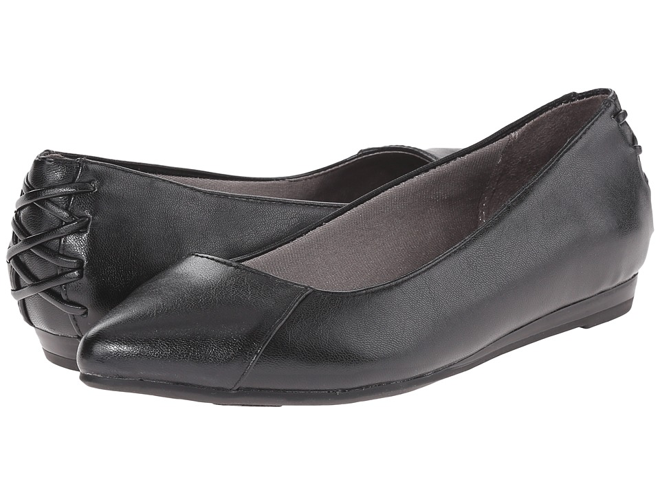 LifeStride - Qute (Black Vinci) Women's Flat Shoes