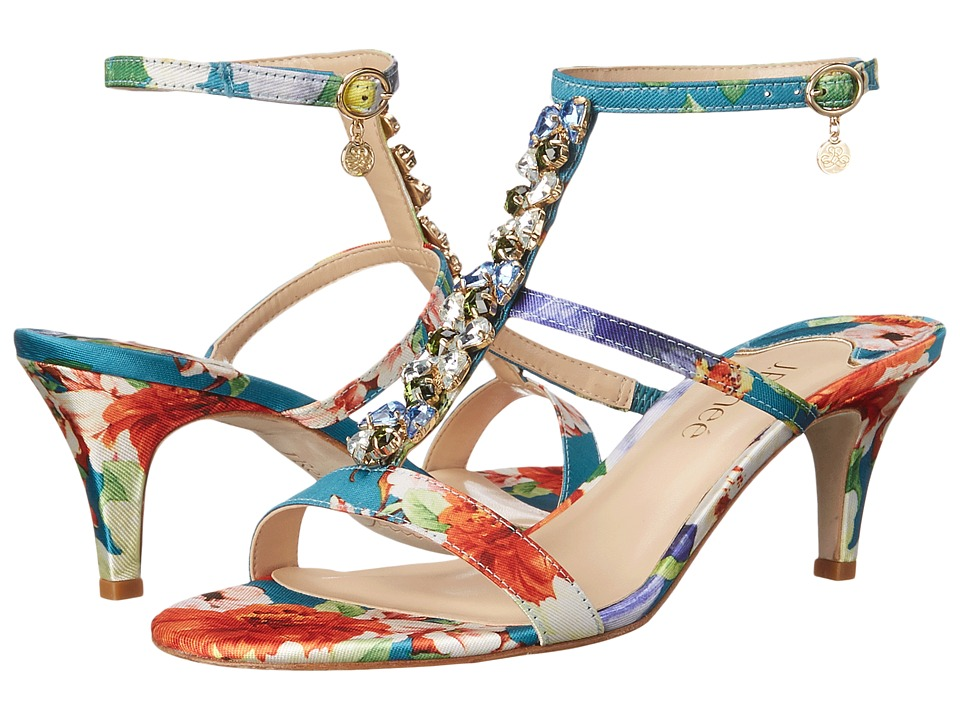 J. Renee - Maricel (Teal Multi) High Heels