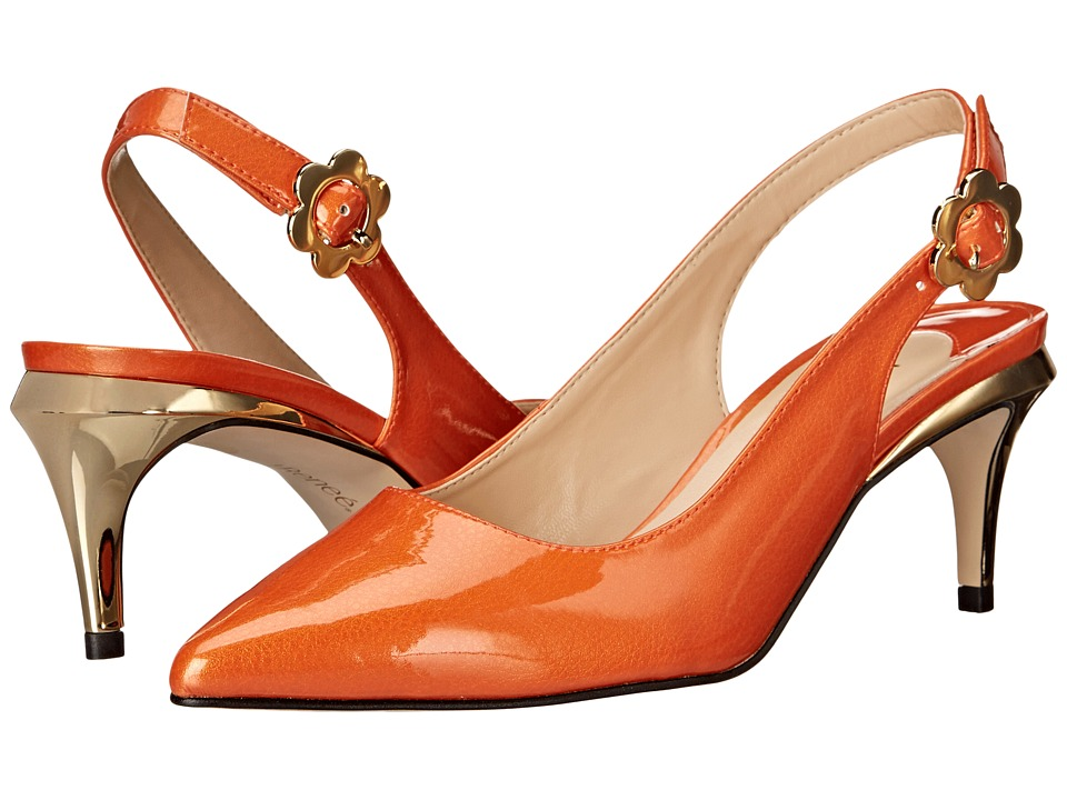 J. Renee - Pearla (Orange) High Heels