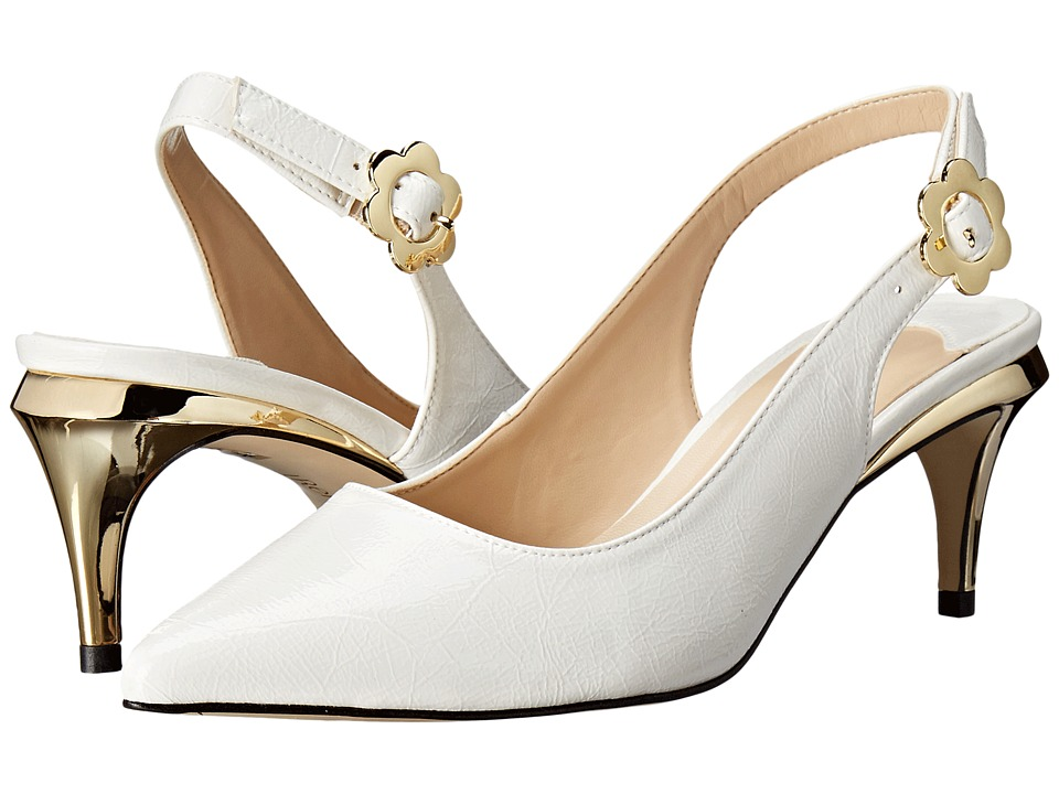 J. Renee - Pearla (White) High Heels