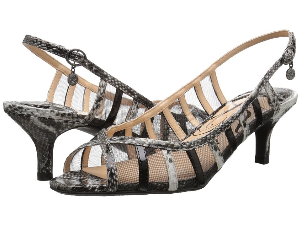J. Renee - Rebeka (Black/White) Women's Shoes