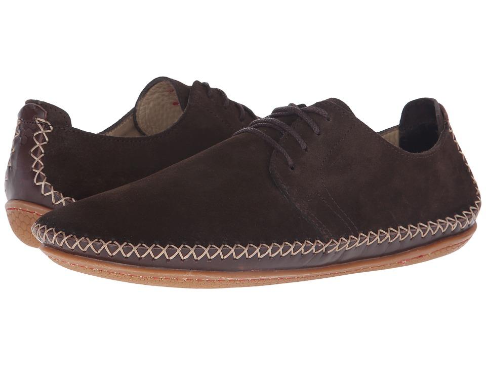 Vivobarefoot - Opanka Lace (Chocolate) Women's Lace up casual Shoes
