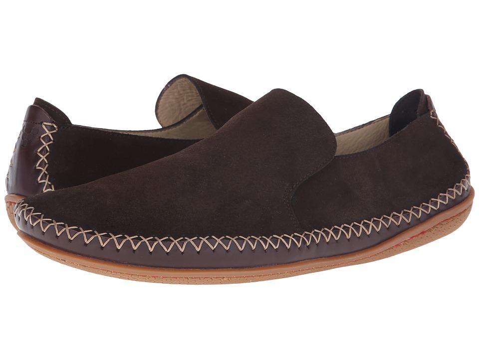 Vivobarefoot - Opanka Slip-On (Chocolate) Men's Slip on Shoes