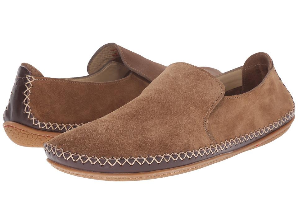 Vivobarefoot - Opanka Slip-On (Taupe) Men's Slip on Shoes