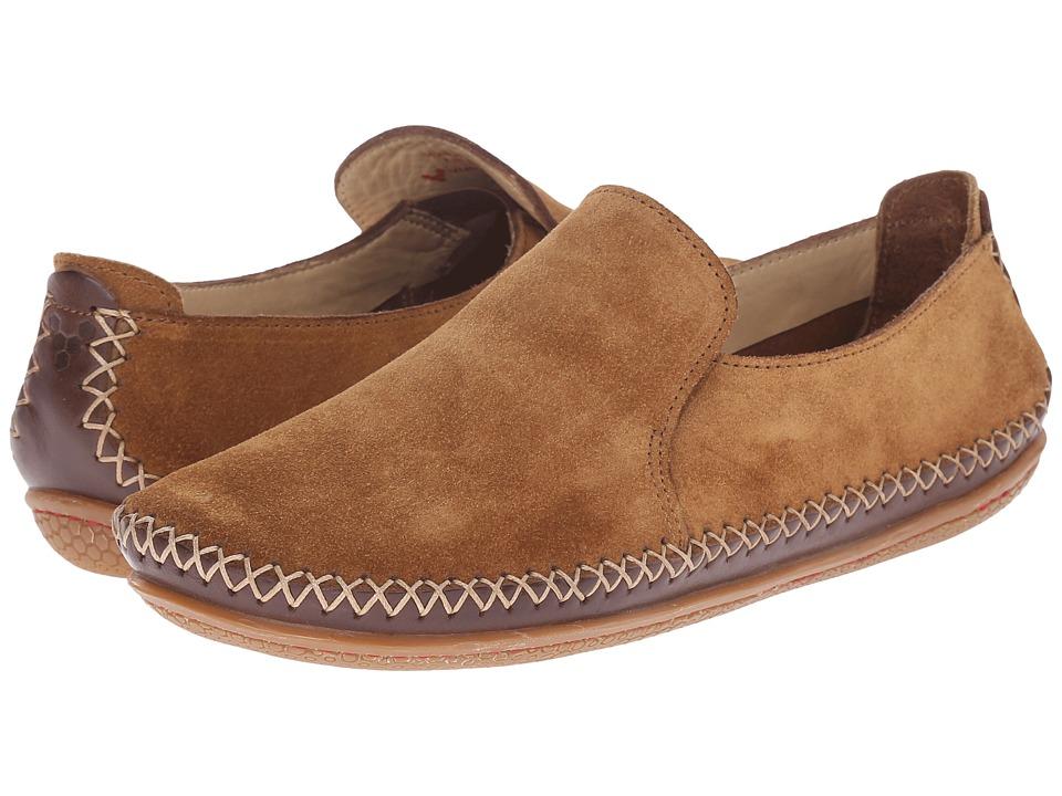 Vivobarefoot - Opanka Slip-On (Chestnut) Women's Slip on Shoes