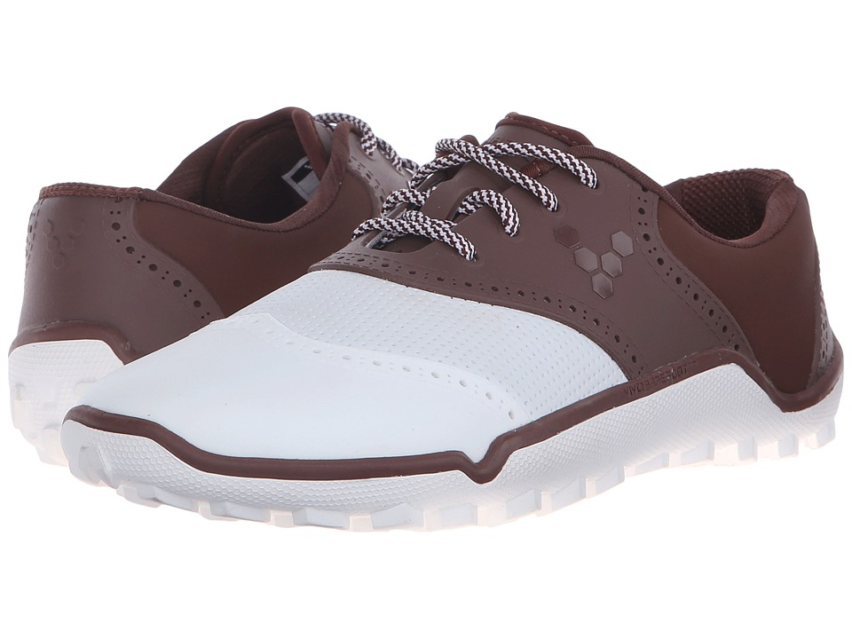 Vivobarefoot - Linx (Chocolate/White) Men's Golf Shoes