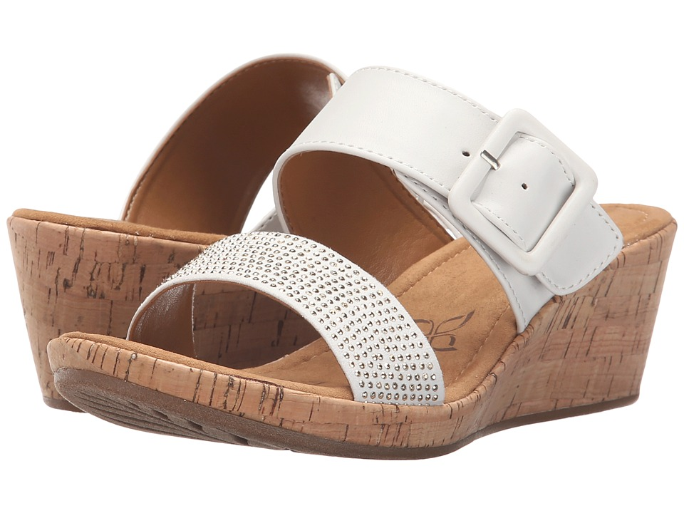 Comfortiva - Sherry (White Sheep Nappa PU) Women's Wedge Shoes