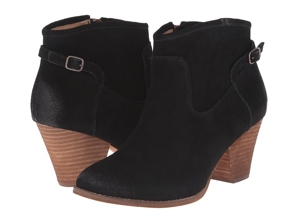 Splendid - Rebekah (Black Suede) Women's Zip Boots