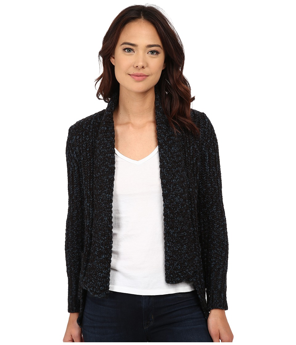 Olive & Oak - Woven Sweater Cardi (Emerald Coast) Women's Sweater