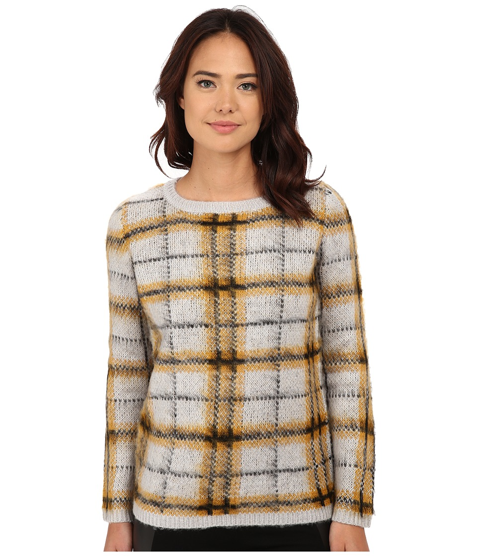 Olive & Oak - Plaid Sweater (Peanut Brittle Combo) Women's Sweater