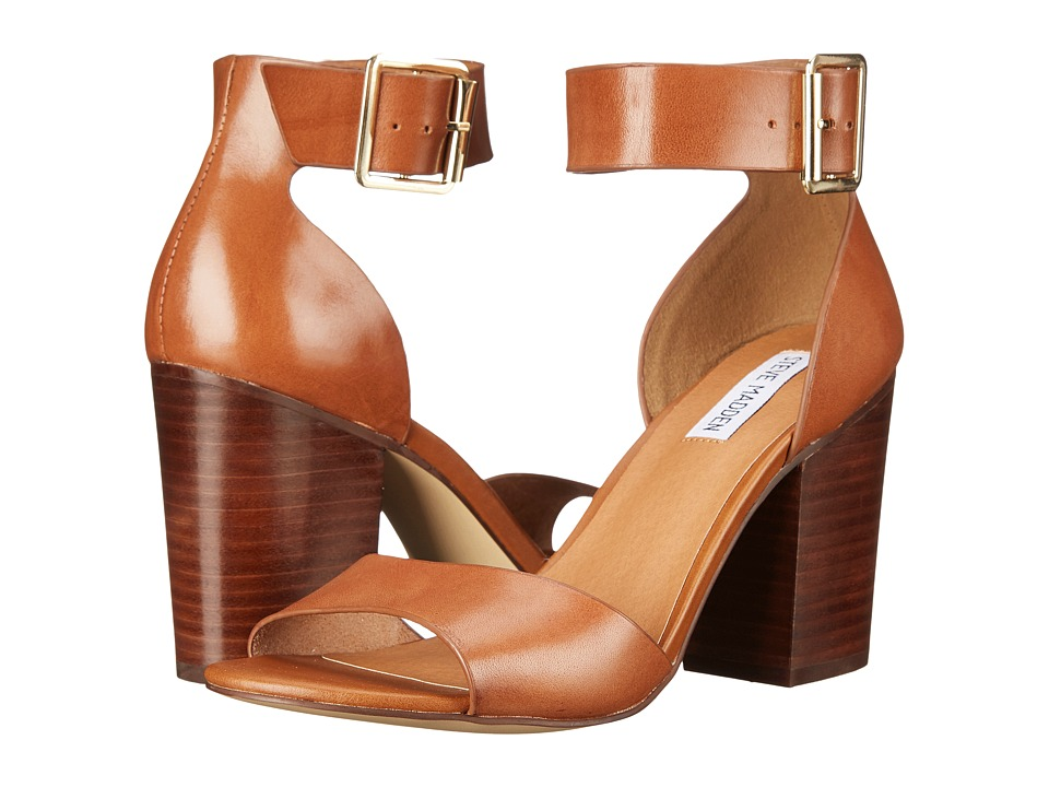 Steve Madden - Estoria (Cognac Leather) High Heels
