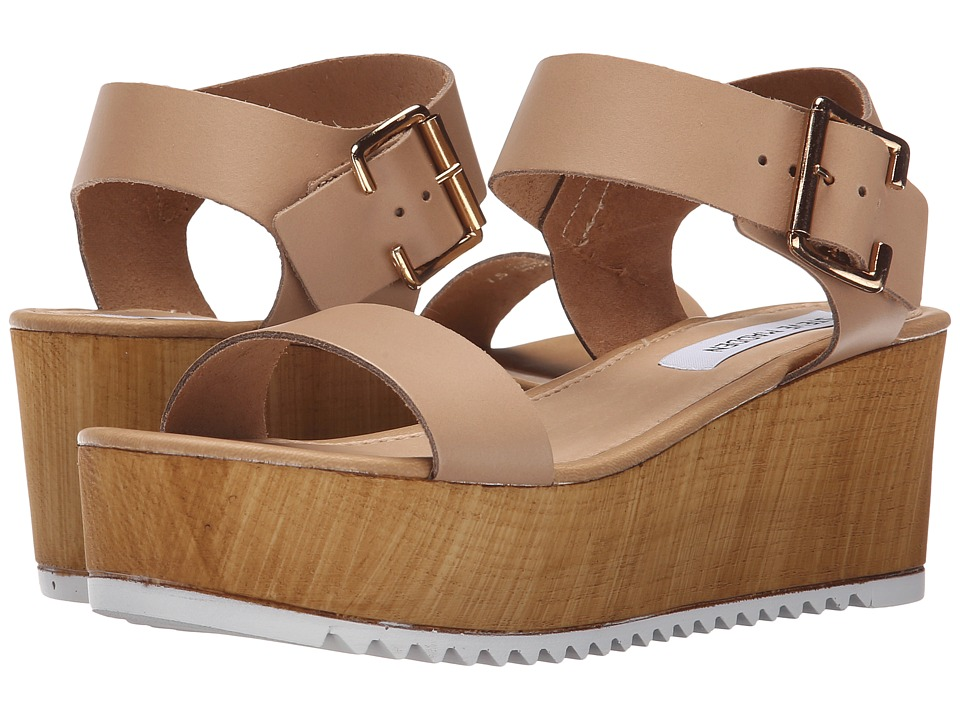 Steve Madden - Nylee (Natural Leather) Women's Sandals