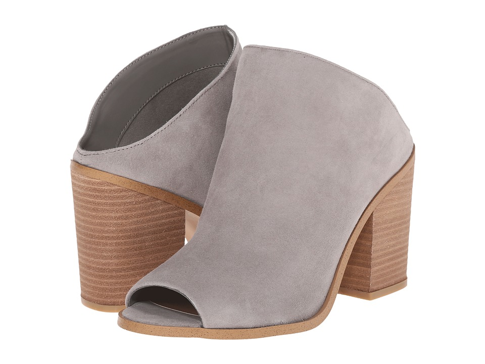 Steve Madden - Nollla (Grey Suede) Women's Clog/Mule Shoes