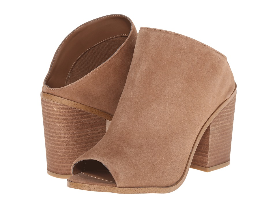 Steve Madden - Nollla (Tan Suede) Women's Clog/Mule Shoes