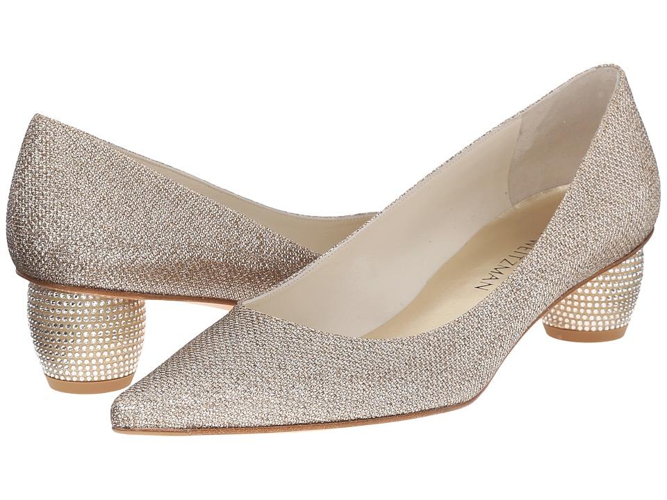 Stuart Weitzman - Pocoglobe (Platinum Noir) Women's Shoes