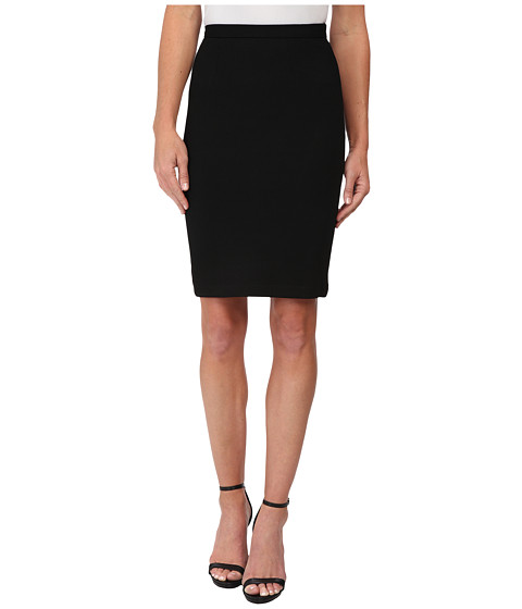 Olive & Oak - Ponte Pencil Skirt (Black) Women's Skirt