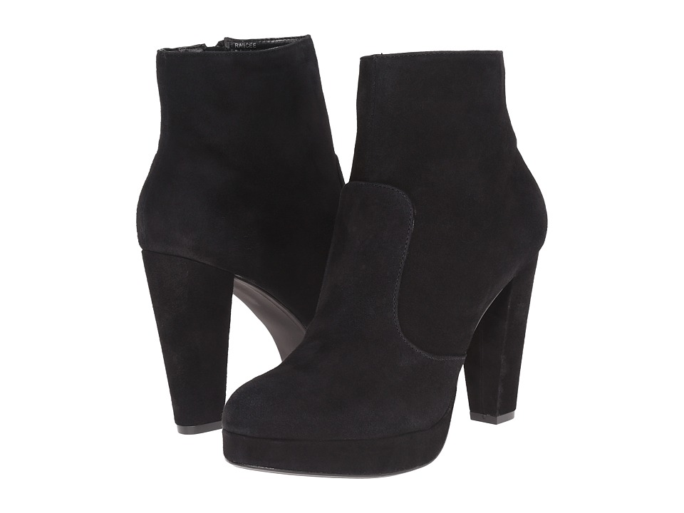 Steve Madden - Rancee (Black Suede) Women's Shoes