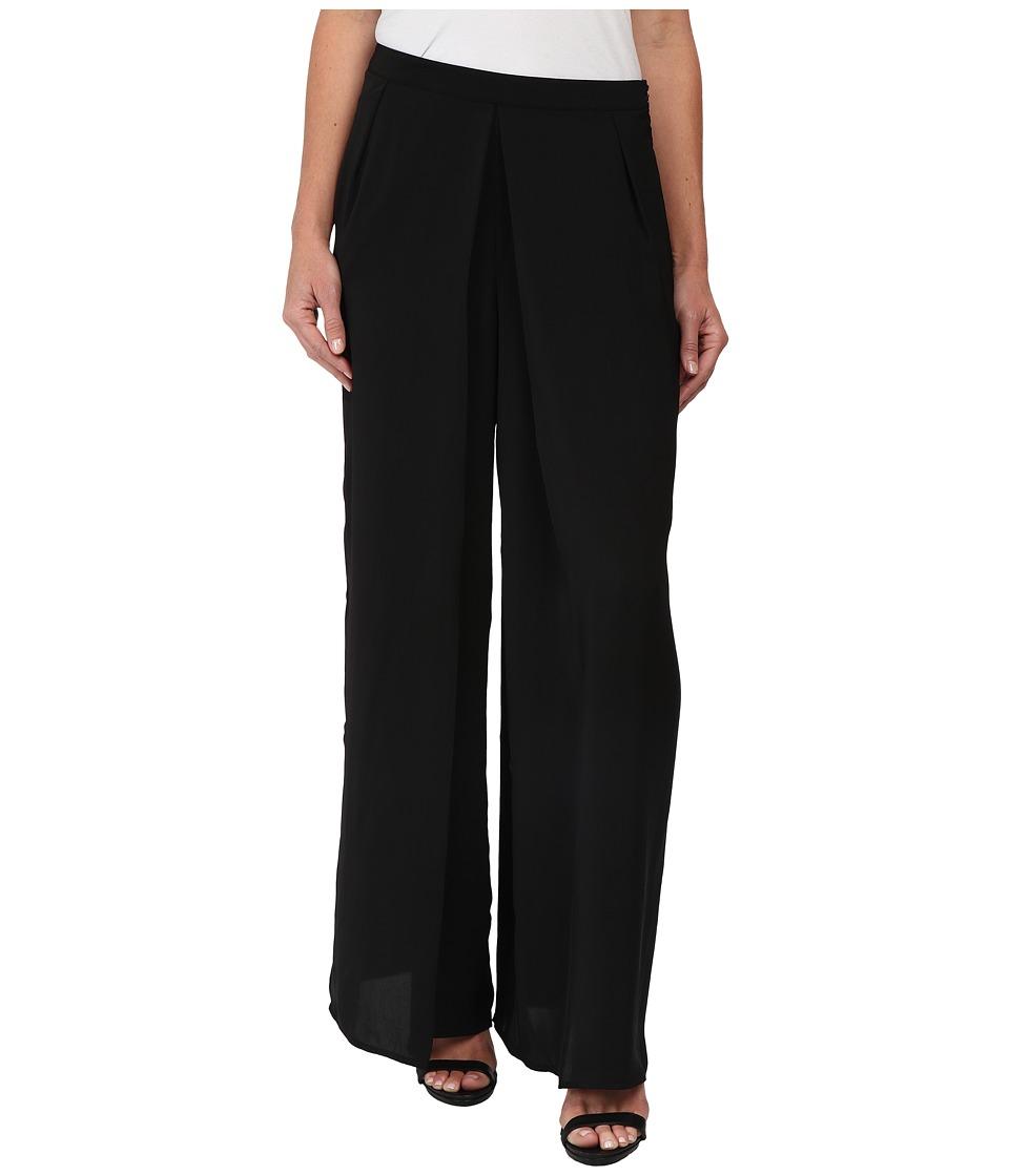 Olive & Oak - Woven Soft Pants (Black) Women's Casual Pants