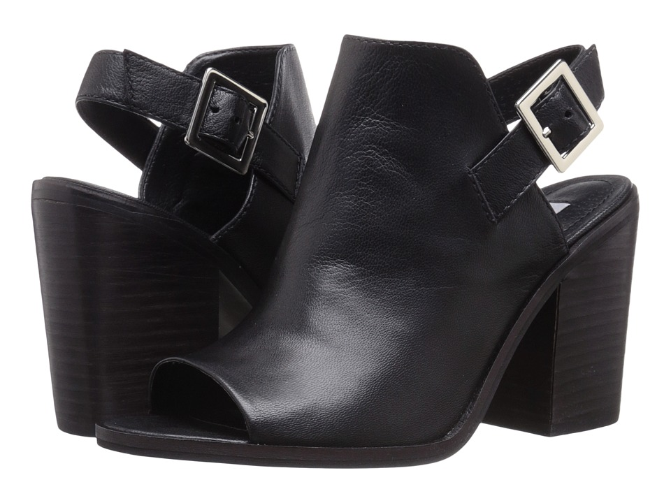 Steve Madden - Tallen (Black Leather) Women