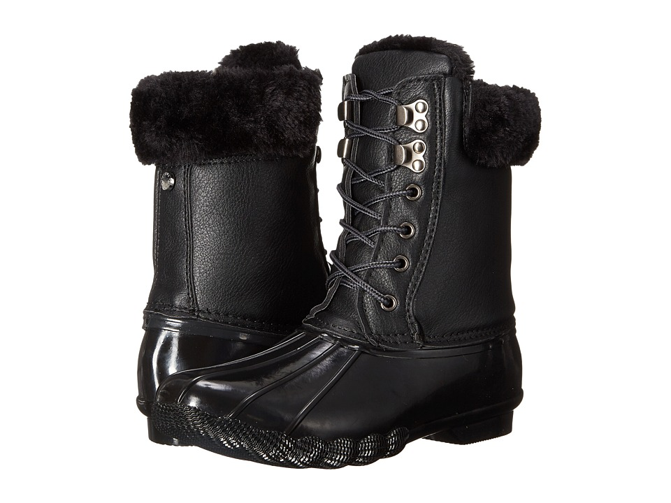 Steve Madden Tstorm Black Womens Cold Weather Boots