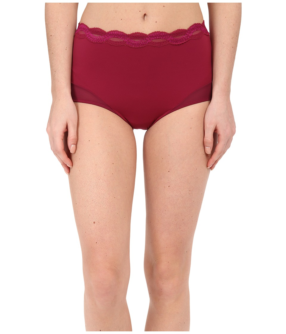 Natori - Pure Allure Brief (Red Plum/Rose) Women's Underwear