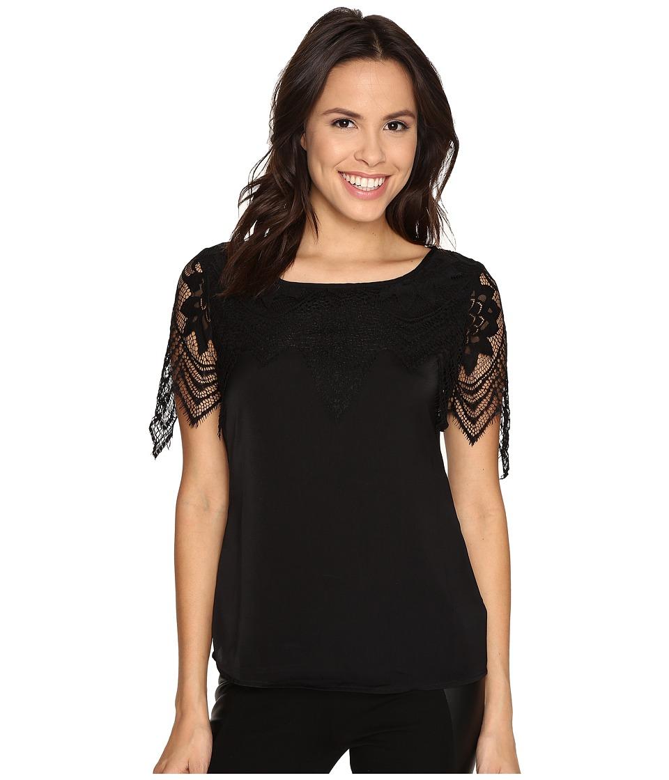 Tart - Tamara Top (Black) Women's Blouse