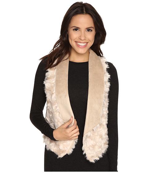 Tart - Sheri Faux Fur Vest (Light Taupe) Women