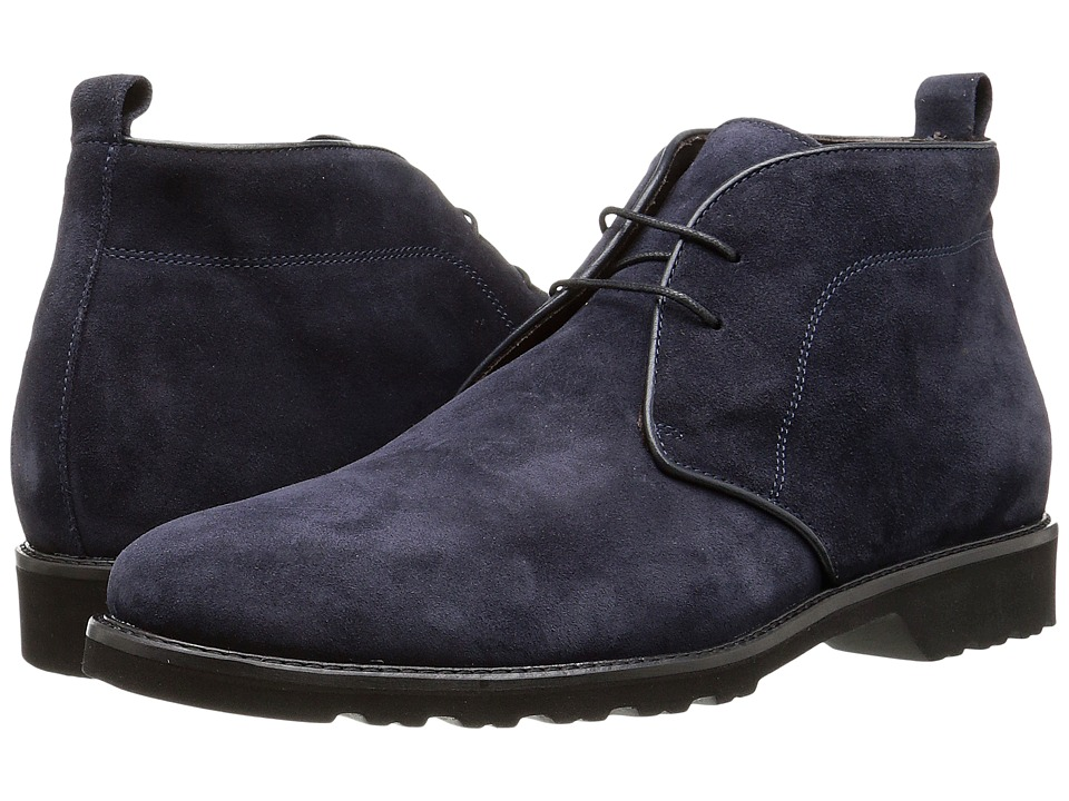 Bruno Magli Wender (Navy Suede) Men