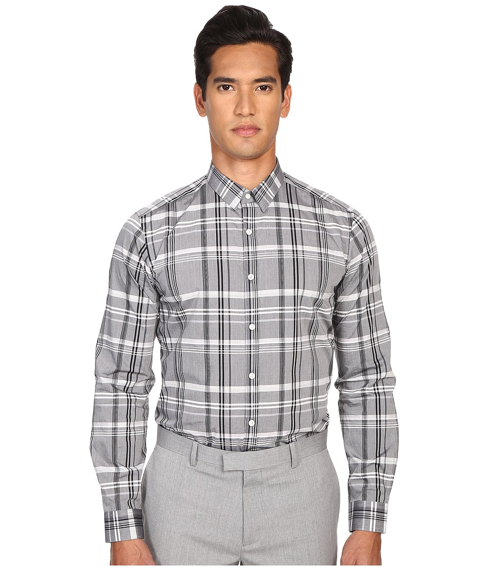 Theory - Zack PS.Rylstone Button Up (Black Multi) Men's Long Sleeve Button Up