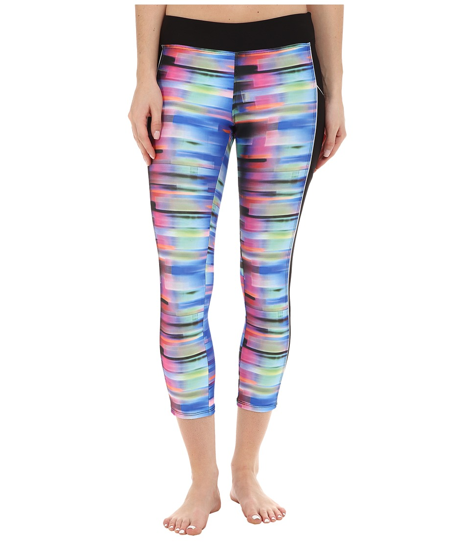 Next by Athena Turn Up The Tempo Tone Up Crop Pant (Multi) Women