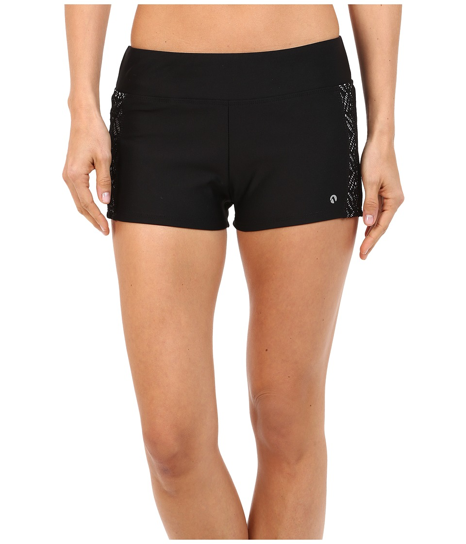 Next by Athena - Inner Glow Jump Start Swim Shorts (Black) Women's Swimwear