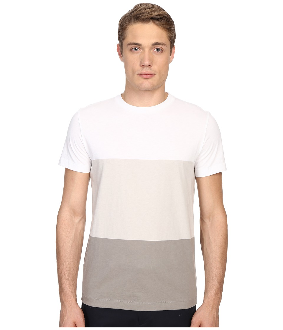 Theory - Koree.Block Tee (White Multi) Men's T Shirt