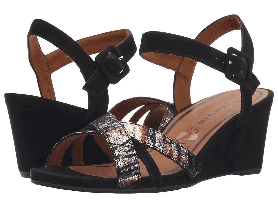 Tamaris - Inex 28301-26 (Black Combo) Women's Shoes