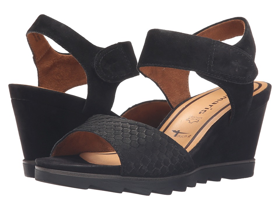 Tamaris - Alis 28302-26 (Black) Women's Shoes