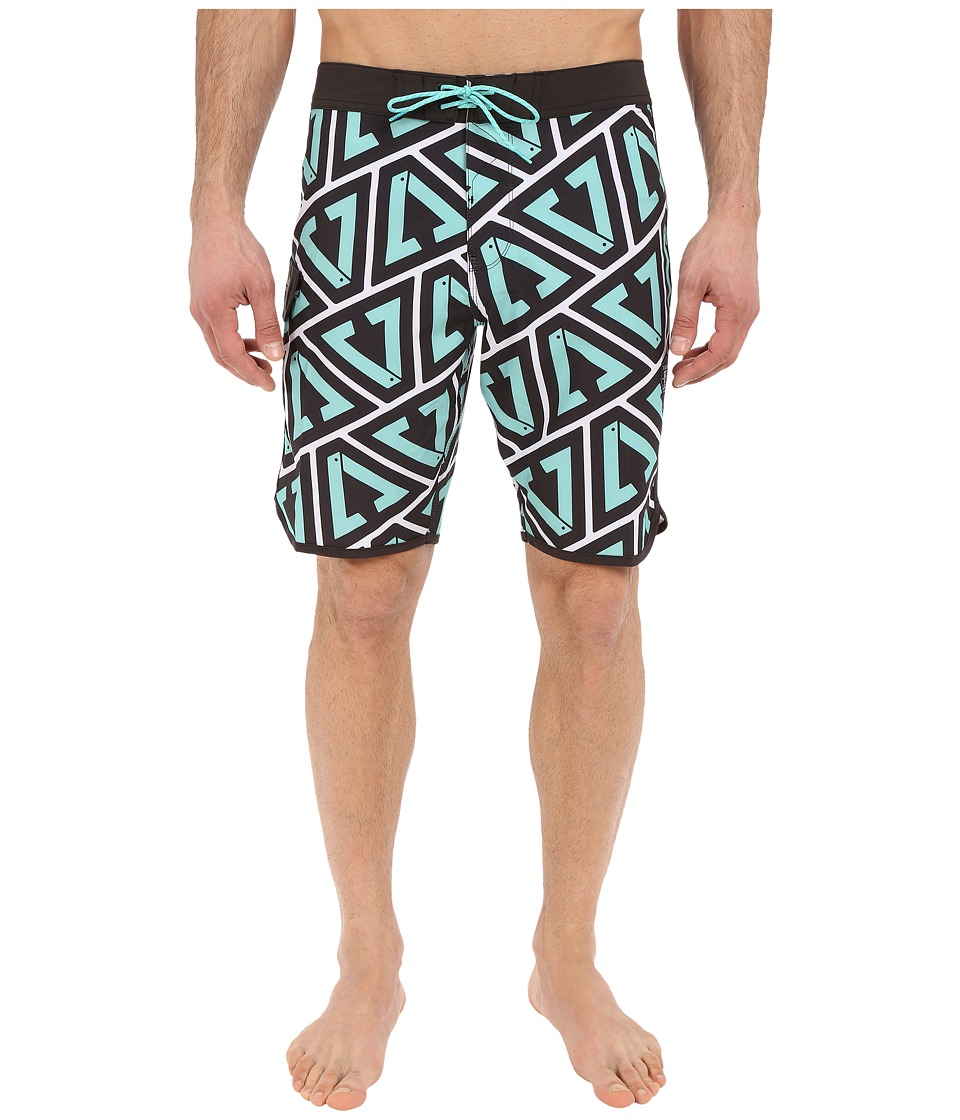 VISSLA - Calipher 4-Way Stretch Boardshorts 20 (Jade) Men's Swimwear